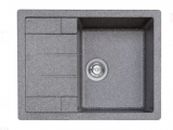 Гранитная мойка для кухни Platinum 6550 INTENSО Микс